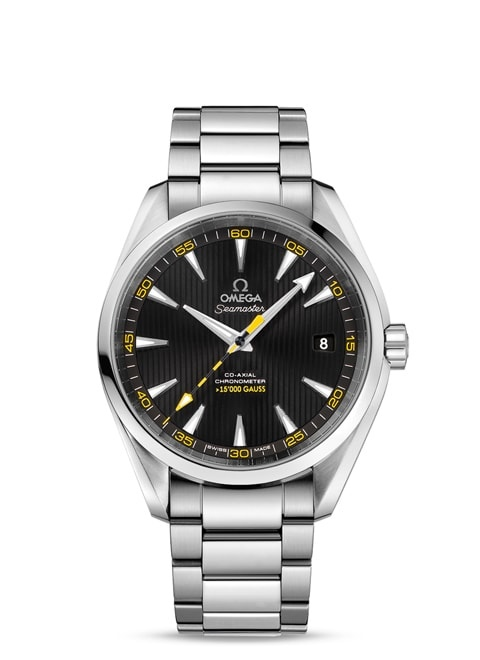 Seamaster Aqua Terra 150M Omega Co-Axial 41.5 mm - Steel on steel