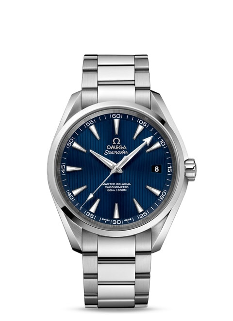 Seamaster Aqua Terra 150M Omega Master Co-Axial 41.5 mm - Steel on steel