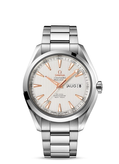 Seamaster Aqua Terra 150M Omega Co-Axial Annual Calendar 43 mm - Steel on steel