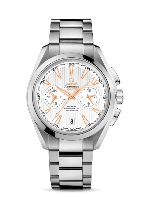 Aqua Terra 150M Omega Co-Axial GMT Chronograph 43 mm - 231.10.43.52.02.001