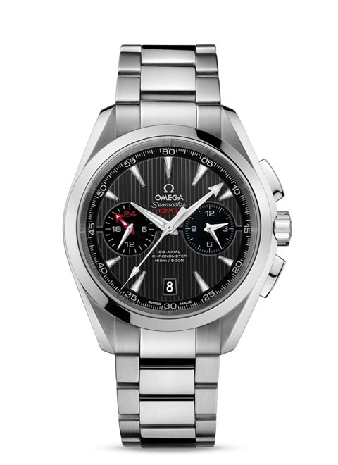 Aqua Terra 150M Omega Co-Axial GMT Chronograph 43 mm - 231.10.43.52.06.001
