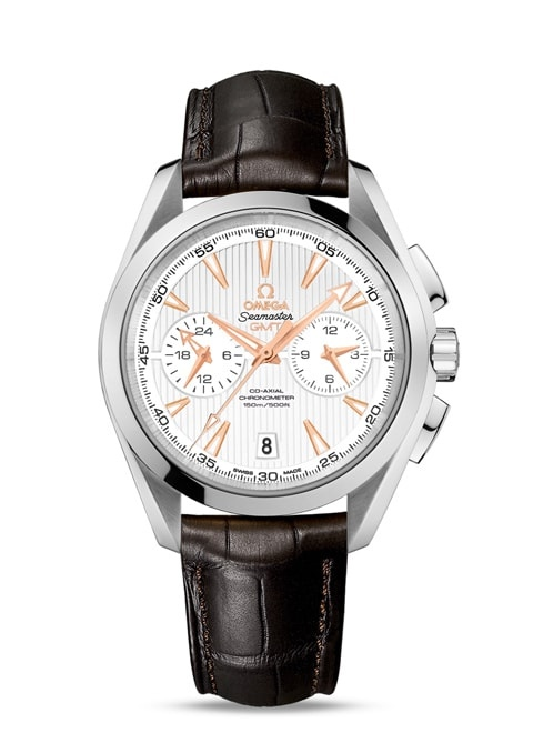 Aqua Terra 150M Omega Co-Axial GMT Chronograph 43 mm - 231.13.43.52.02.001