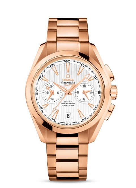 Aqua Terra 150M Omega Co-Axial GMT Chronograph 43 mm - 231.50.43.52.02.001