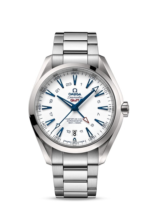 Seamaster Aqua Terra 150M Omega Master Co-Axial GMT 43 mm - Titanium on titanium