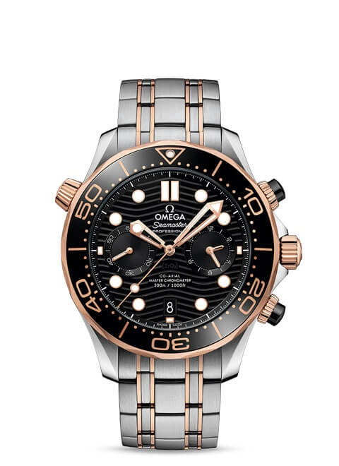 Diver 300M Omega Co-Axial Master Chronometer Chronograph 44 mm - 210.20.44.51.01.001