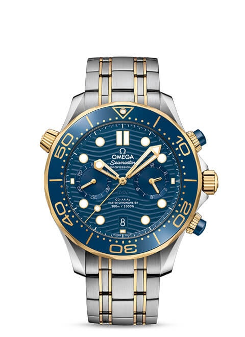 Diver 300M Omega Co-Axial Master Chronometer Chronograph 44 mm - 210.20.44.51.03.001