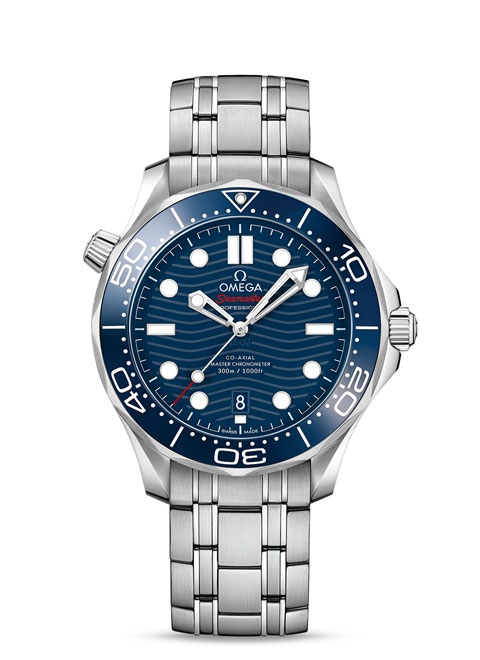 Seamaster Diver 300 M Omega Co-Axial Master Chronometer 42 mm - Steel on steel