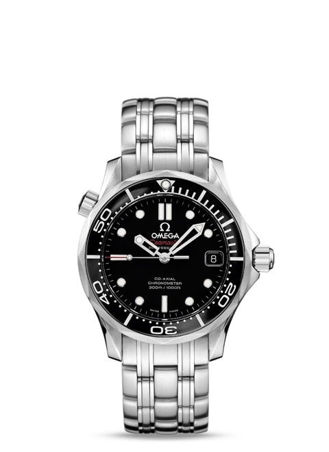 Seamaster Diver 300 M Co-Axial 36.25 mm - Steel on steel