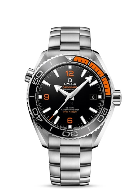 Seamaster Planet Ocean 600M Omega Co-Axial Master Chronometer 43.5 mm - Steel on steel