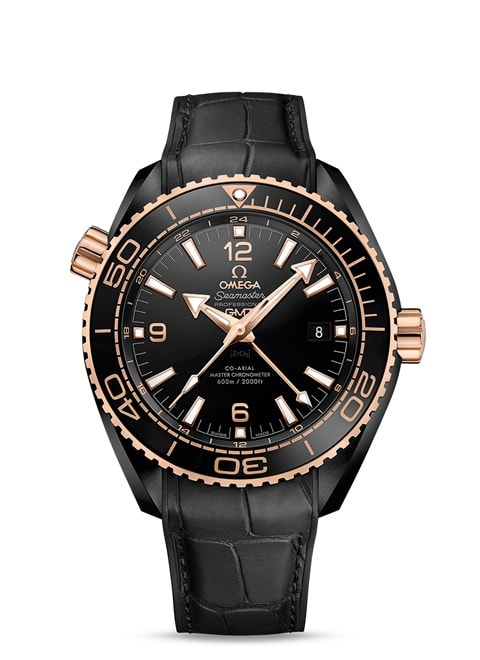 Planet Ocean 600M Omega Co-axial Master Chronometer GMT 45.5 mm - 215.63.46.22.01.001