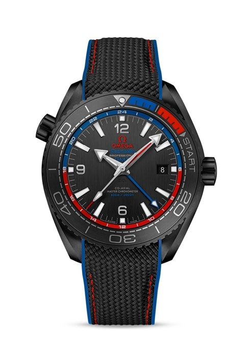 Planet Ocean 600M Omega Co-axial Master Chronometer GMT 45.5 mm - 215.92.46.22.01.004