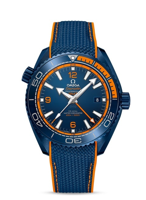 Planet Ocean 600M Omega Co-axial Master Chronometer GMT 45.5 mm - 215.92.46.22.03.001