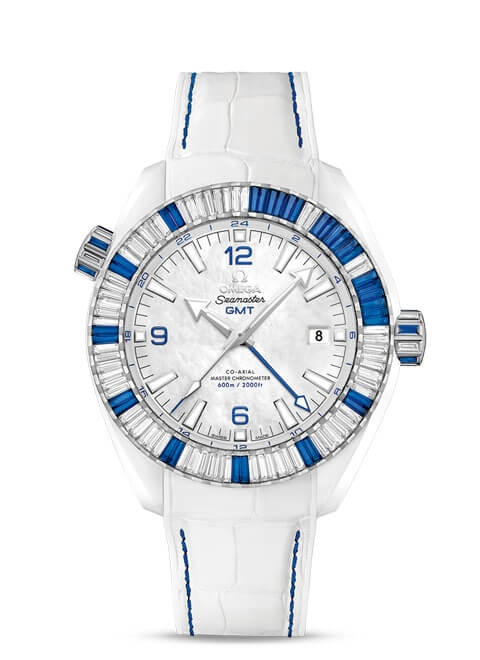 Planet Ocean 600M Omega Co-axial Master Chronometer GMT 45.5mm - 215.98.46.22.05.001