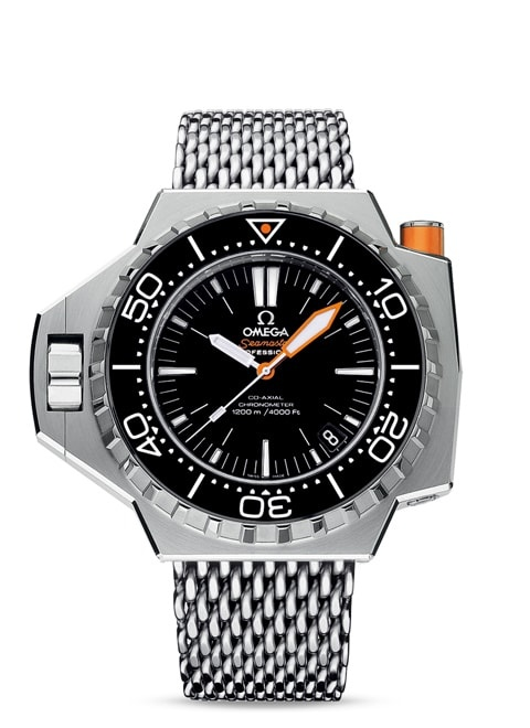 Seamaster Ploprof 1200M Omega Co-Axial 55 x 48 mm - Steel on steel