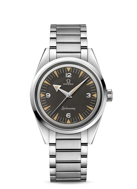 Seamaster Railmaster Omega Co-Axial Master Chronometer 38 mm - Steel on steel