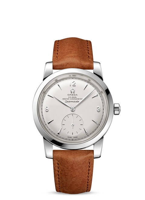 Seamaster 1948 Omega Co-Axial Master Chronometer Small Seconds 38 mm - Steel on leather strap