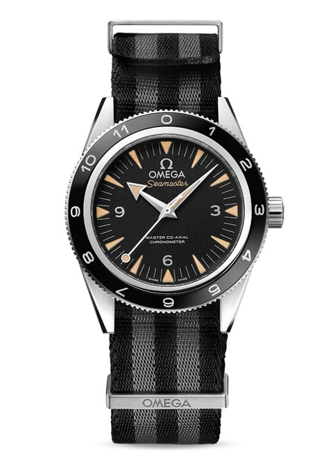 Seamaster 300 Omega Master Co-Axial 41 mm - Steel on NATO strap