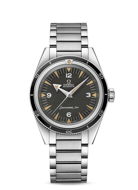 Seamaster The Collection Omega Co-Axial Master Chronometer 39 mm - Steel on steel