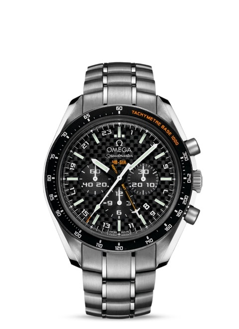 Speedmaster SOLAR IMPULSE HB-SIA Co-Axial GMT Chronograph Numbered Edition 44.25 mm - Titanium on titanium