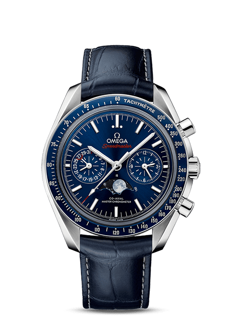 Speedmaster Moonwatch Omega Co-Axial Master Chronometer Chronographe Phases de lune 44,25 mm - SKU 304.33.44.52.03.001