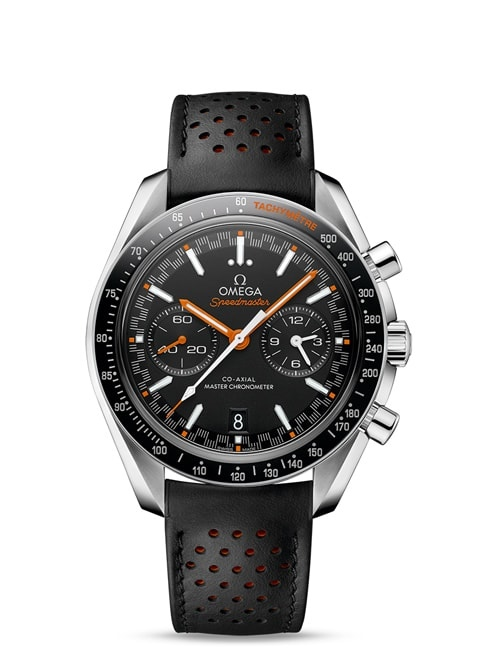 Speedmaster Racing Omega Co-Axial Master Chronometer Chronograph 44.25 mm - Steel on leather strap