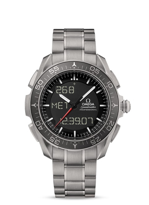Speedmaster Skywalker X-33 Chronograph 45 mm - Titanium on titanium