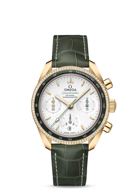 Speedmaster 38 Co-Axial Chronograph 38 mm - 324.68.38.50.02.004