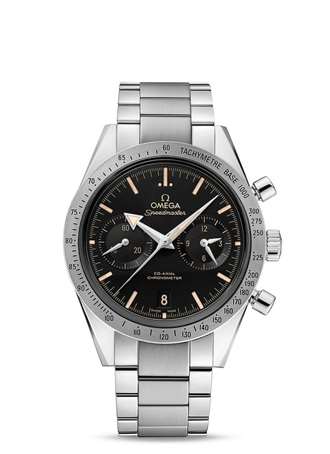 Speedmaster '57 Omega Co-Axial Chronograph 41,5 mm - Acero con Acero