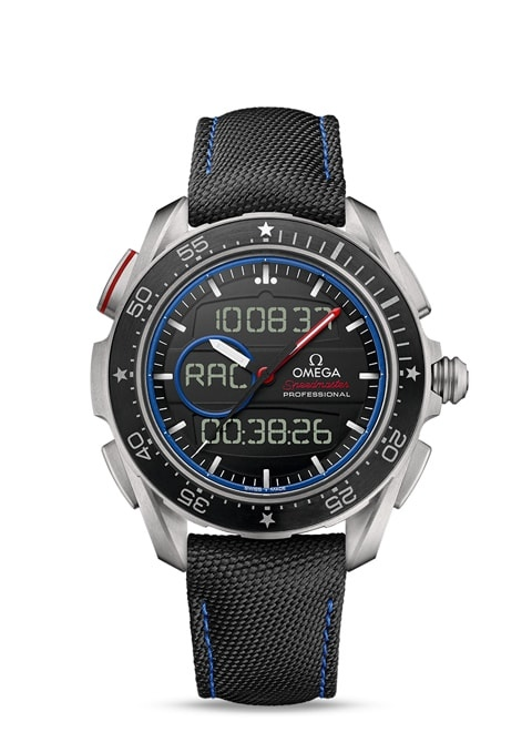 Speedmaster X-33 Regatta Chronograph 45 mm - Titanium on coated nylon fabric strap