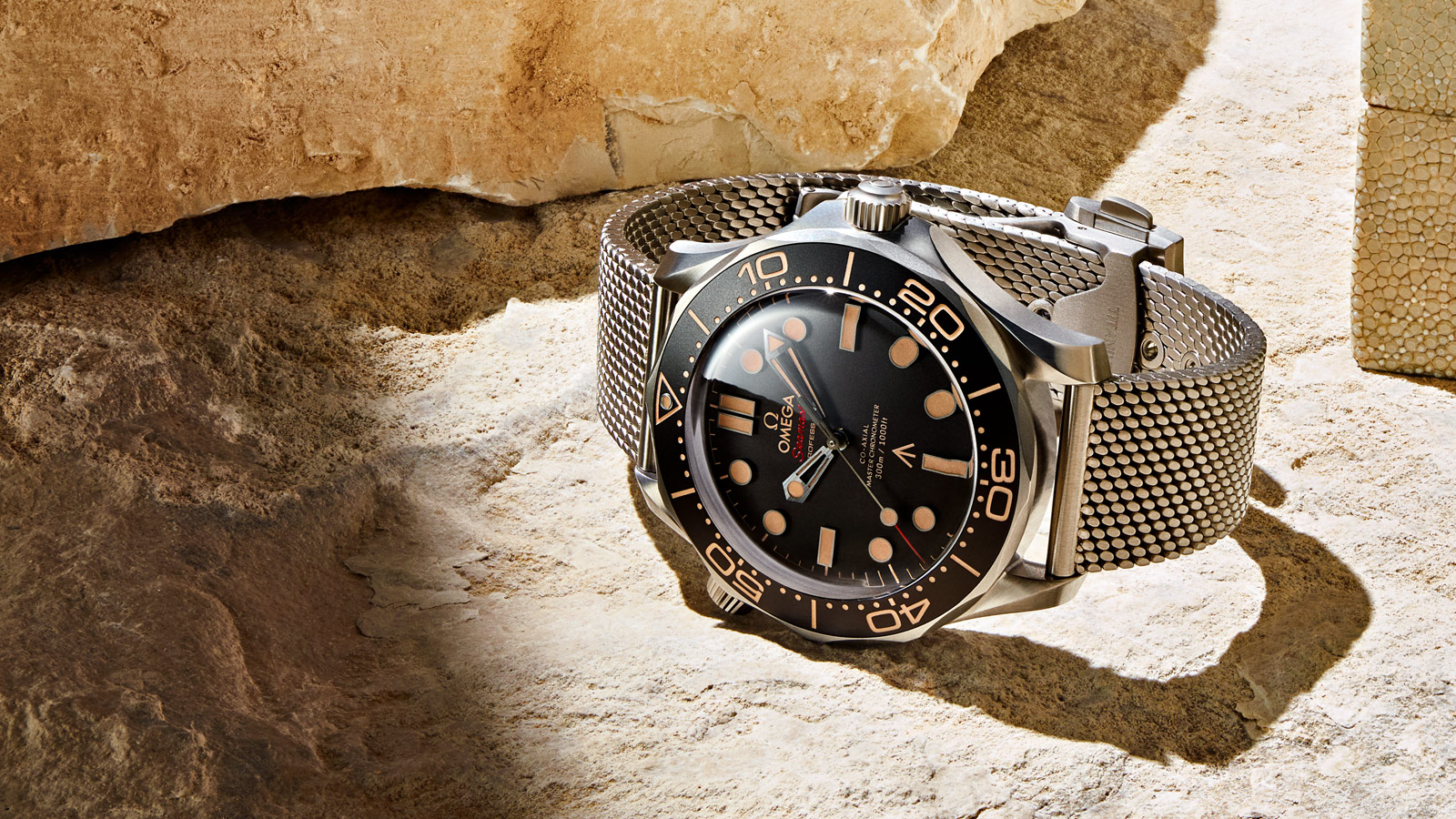Seamaster Diver 300 M Diver 300M Omega Co‑Axial Master Chronometer 42 mm Relógio - 210.90.42.20.01.001