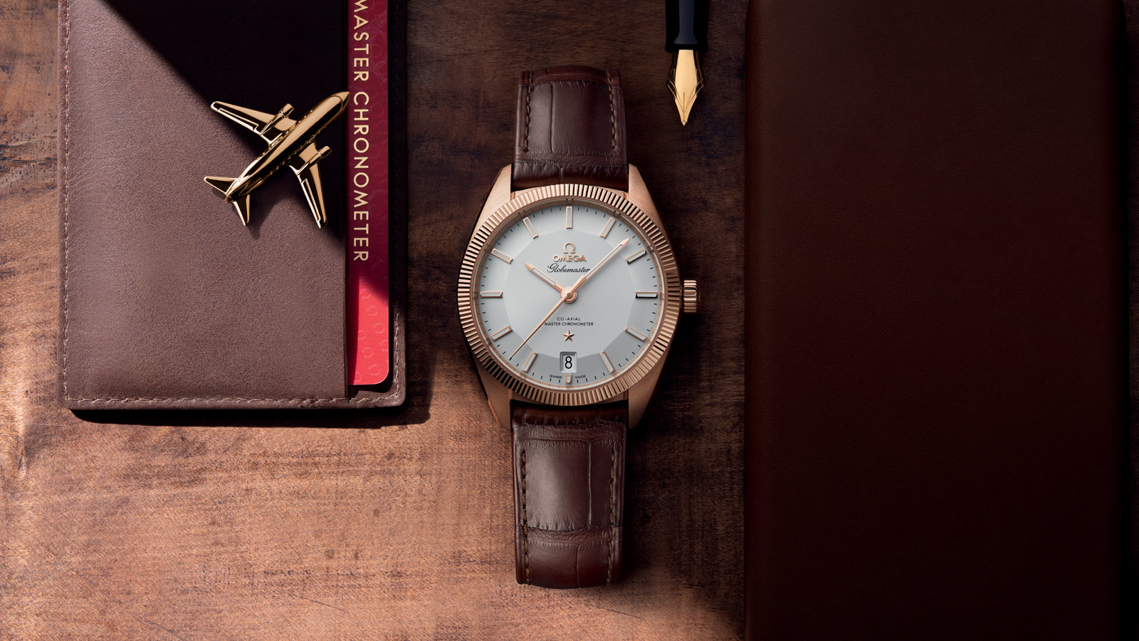 Constellation Globemaster Globemaster Omega Co‑Axial Master Chronometer 39 mm Referenz - 130.53.39.21.02.001