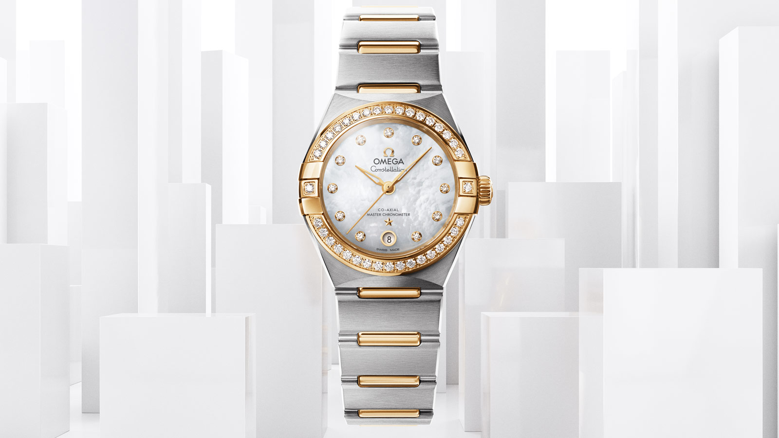 Constellation Constellation Manhattan Constellation Manhattan Omega Co‑Axial Master Chronometer 29 mm Часы - 131.25.29.20.55.002
