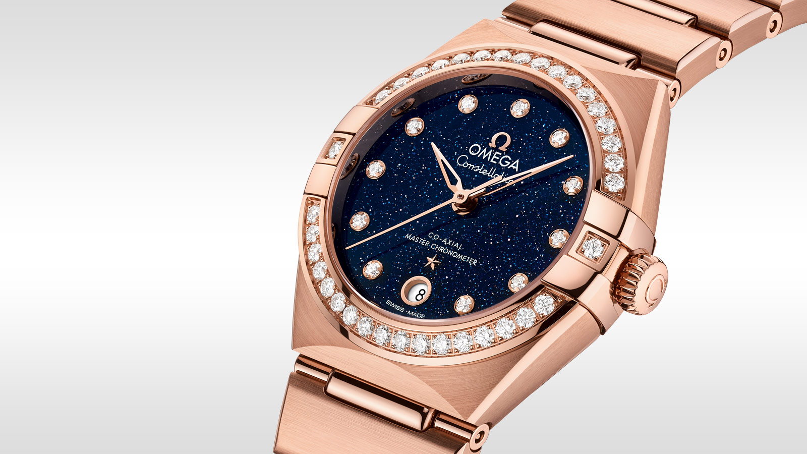 Constellation Constellation Manhattan Constellation Manhattan Omega Co‑Axial Master Chronometer 29 mm - 131.55.29.20.53.003 - View 2