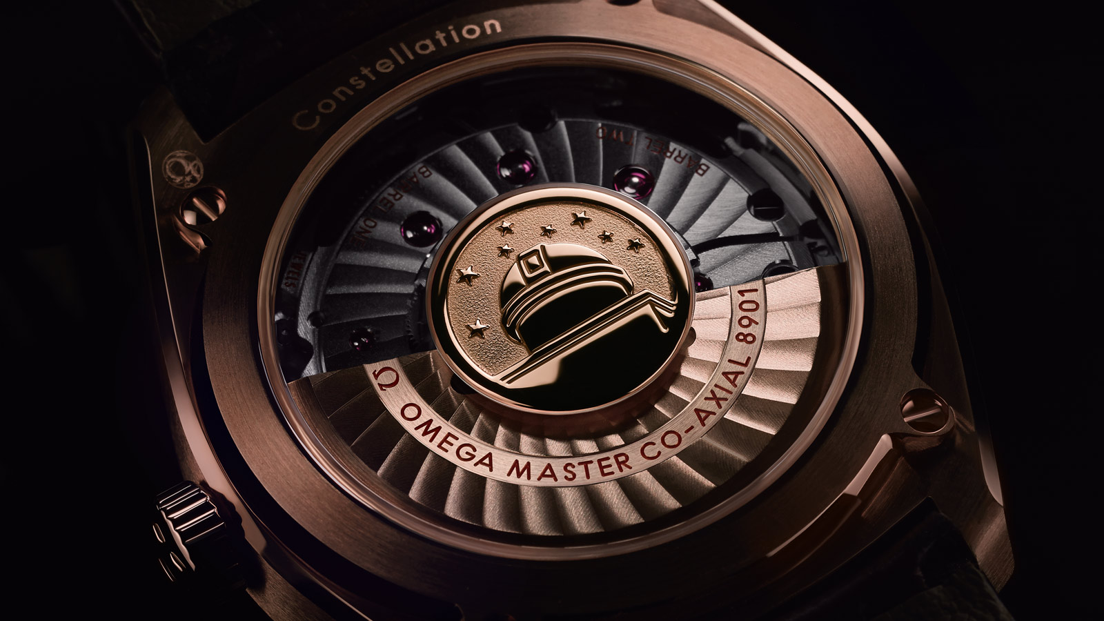 Constellation Globemaster Globemaster Omega Co‑Axial Master Chronometer 39 mm - 130.53.39.21.02.001 - Visualizzare 2