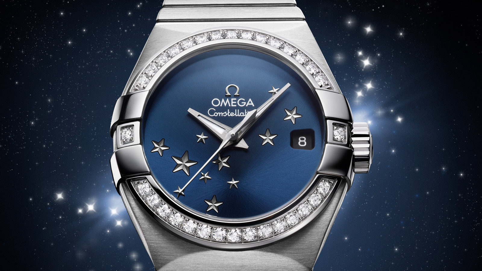 Constellation Constellation Constellation Omega Co‑Axial 27 mm - 123.15.27.20.03.001 - View 2