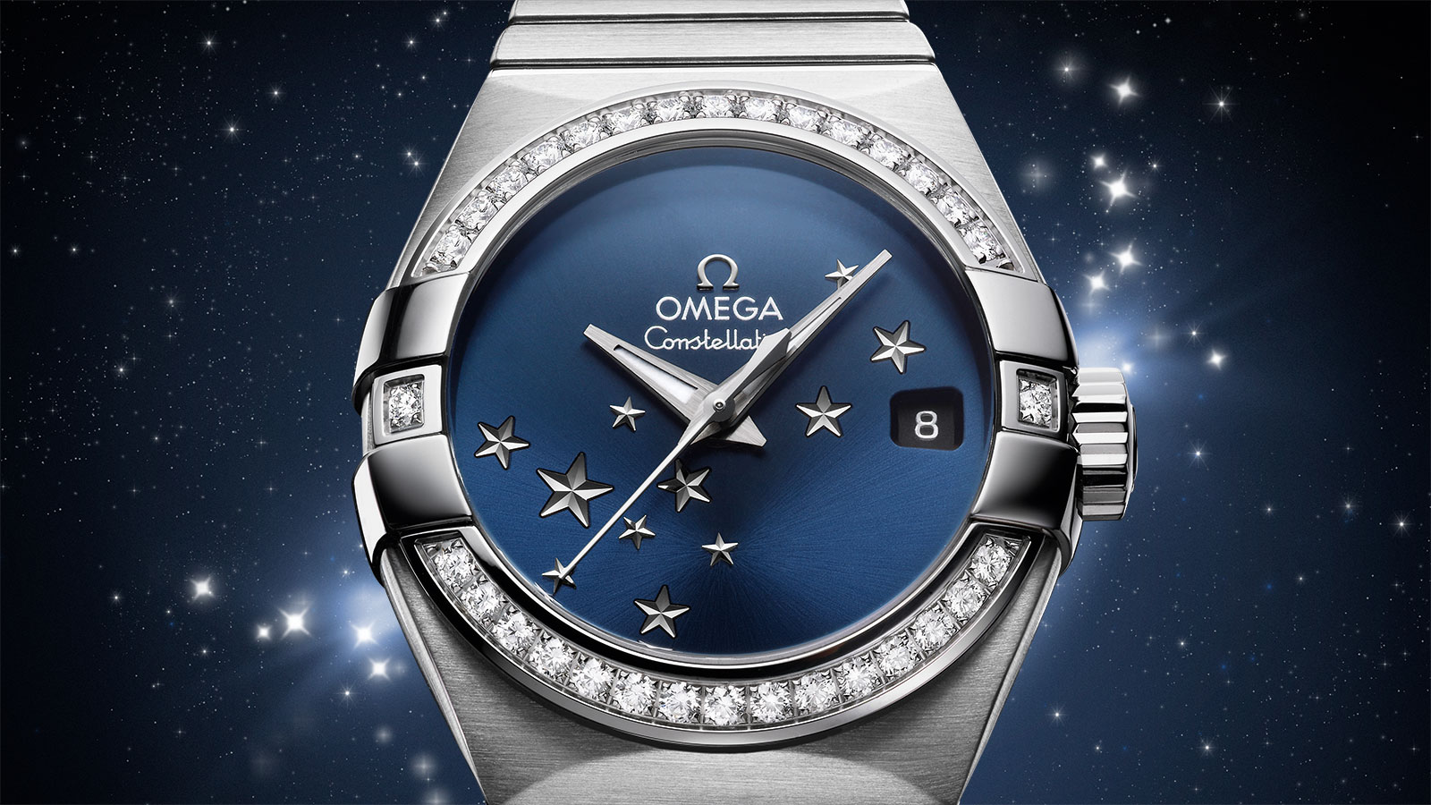 Constellation Constellation Constellation Omega Co‑Axial 27 mm Watch - 123.15.27.20.03.001