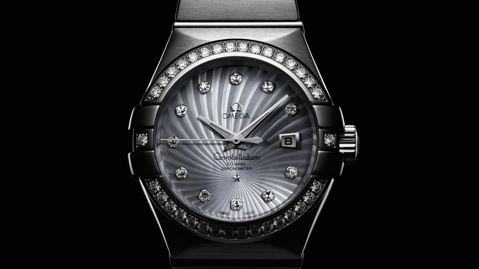 Constellation Constellation Constellation Omega Co‑Axial 31mm - 123.55.31.20.55.003 - View 1