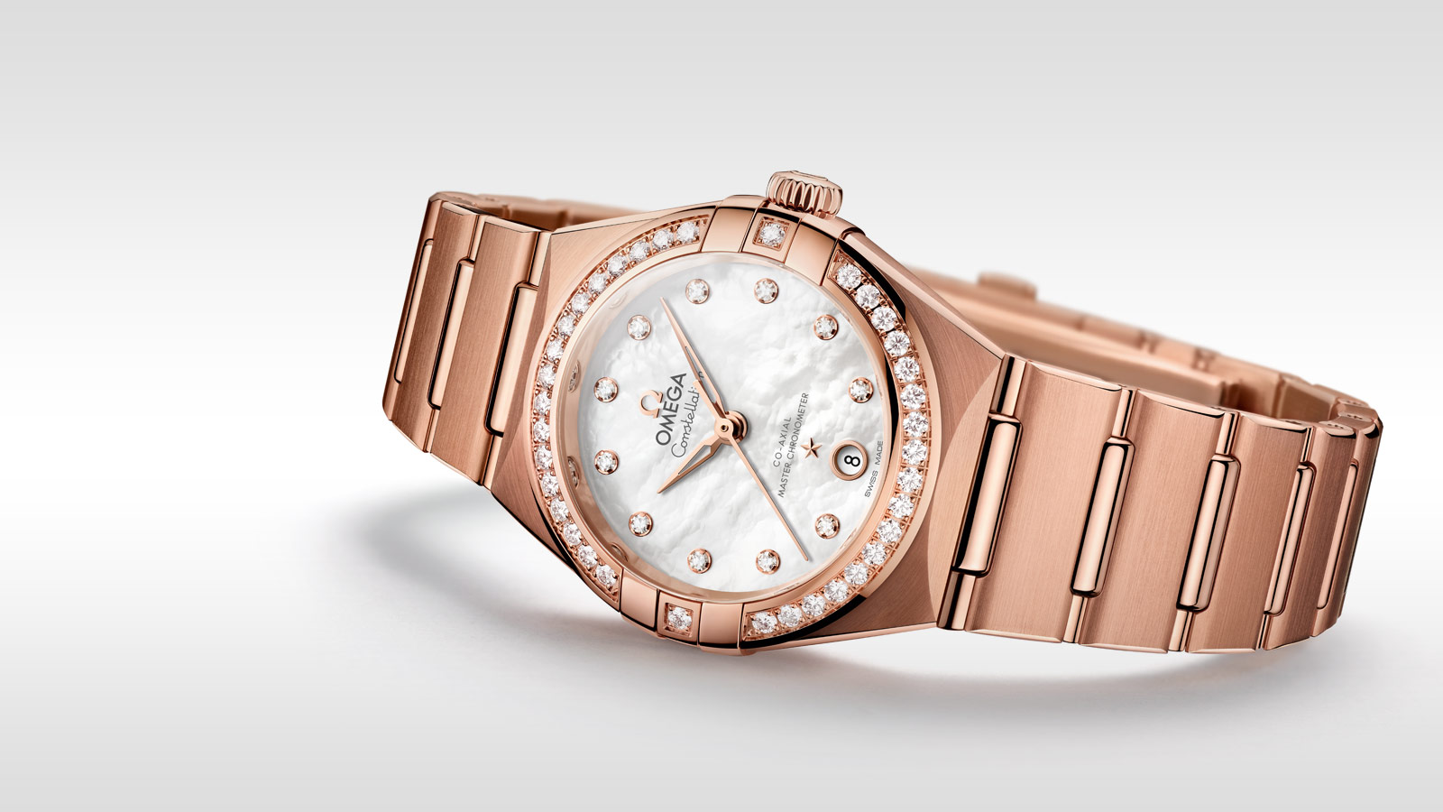Constellation Constellation Constellation OMEGA Co‑Axial Master Chronometer 29 mm - 131.55.29.20.55.001 - Visualizzare 1