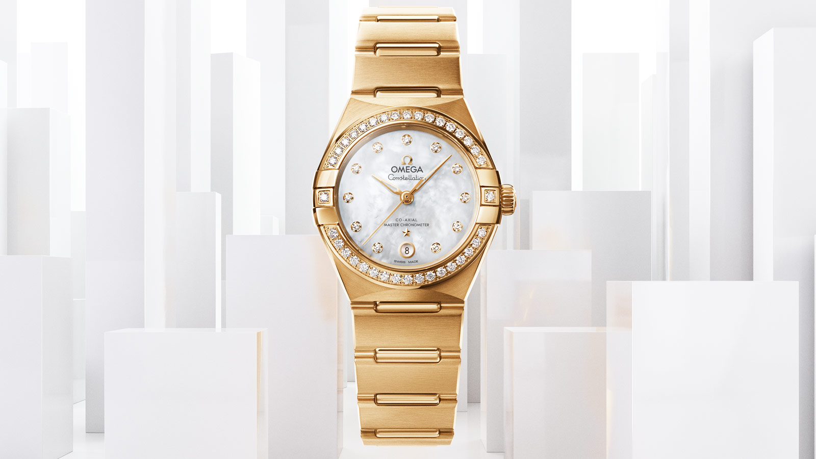 Constellation Constellation Constellation OMEGA Co‑Axial Master Chronometer 29 mm Watch - 131.55.29.20.55.002