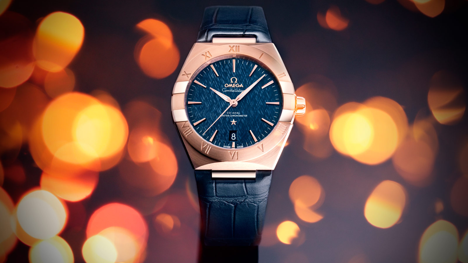 Constellation Constellation Constellation OMEGA Co‑Axial Master Chronometer 39 mm Watch - 131.53.39.20.03.001