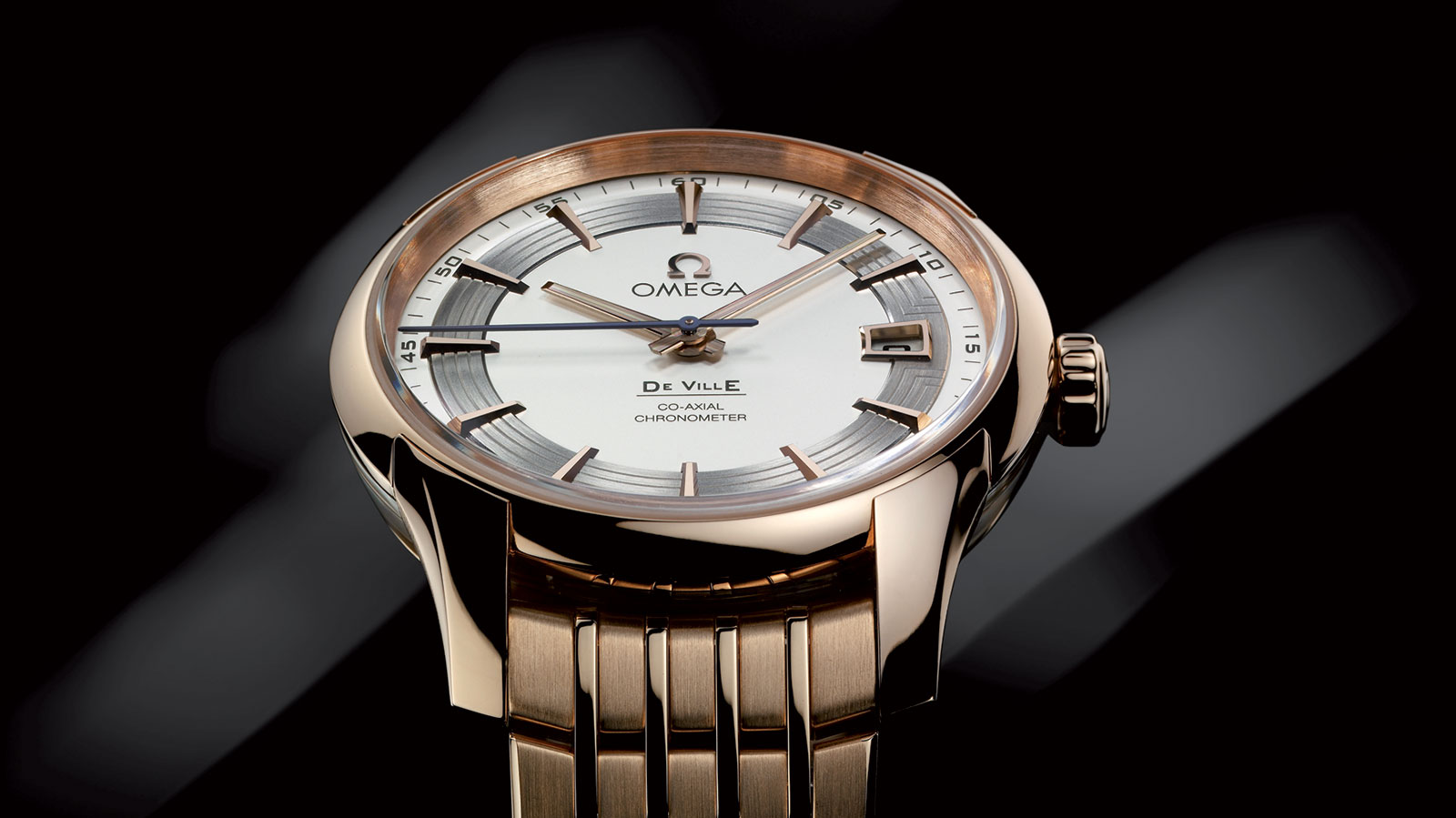 De Ville Hour Vision Hour Vision Omega Co‑Axial 41 mm Watch - 431.60.41.21.02.001