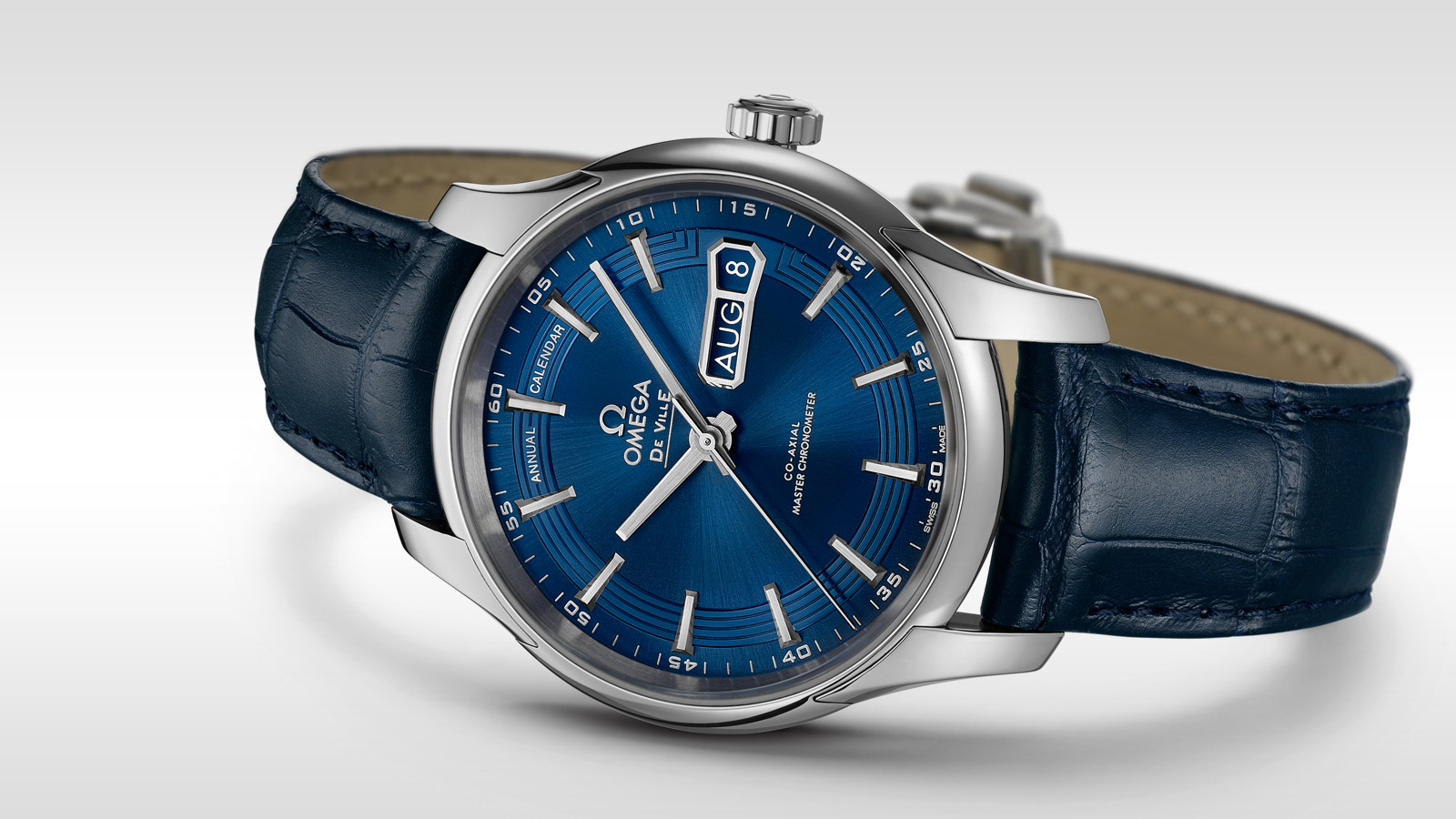 De Ville Hour Vision Hour Vision Omega Co‑Axial Master Chronometer Annual Calendar 41 mm - 433.33.41.22.03.001 - View 1