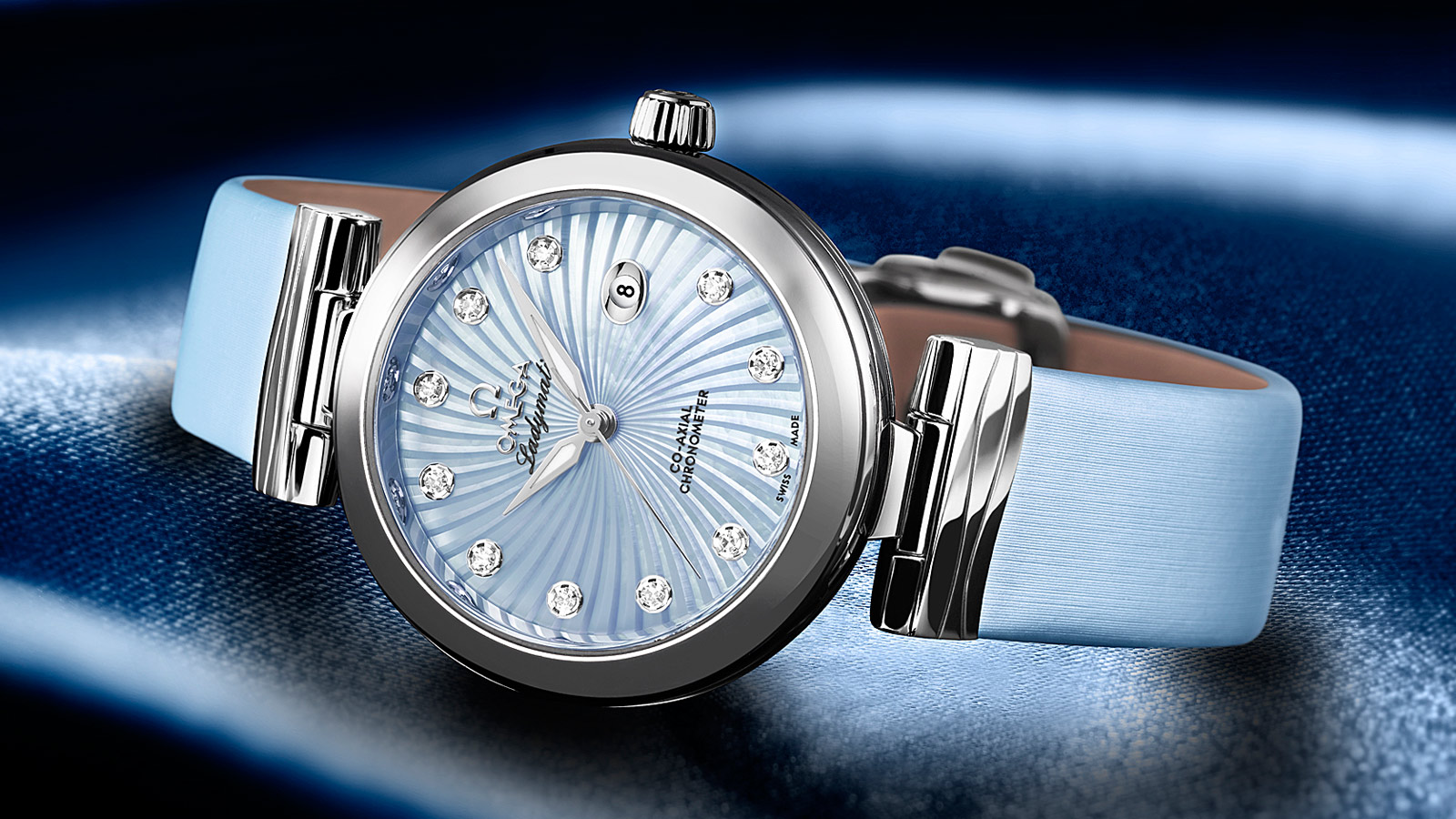 De Ville Ladymatic Ladymatic Omega Co‑Axial 34 mm - 425.32.34.20.57.002 - Vista 1
