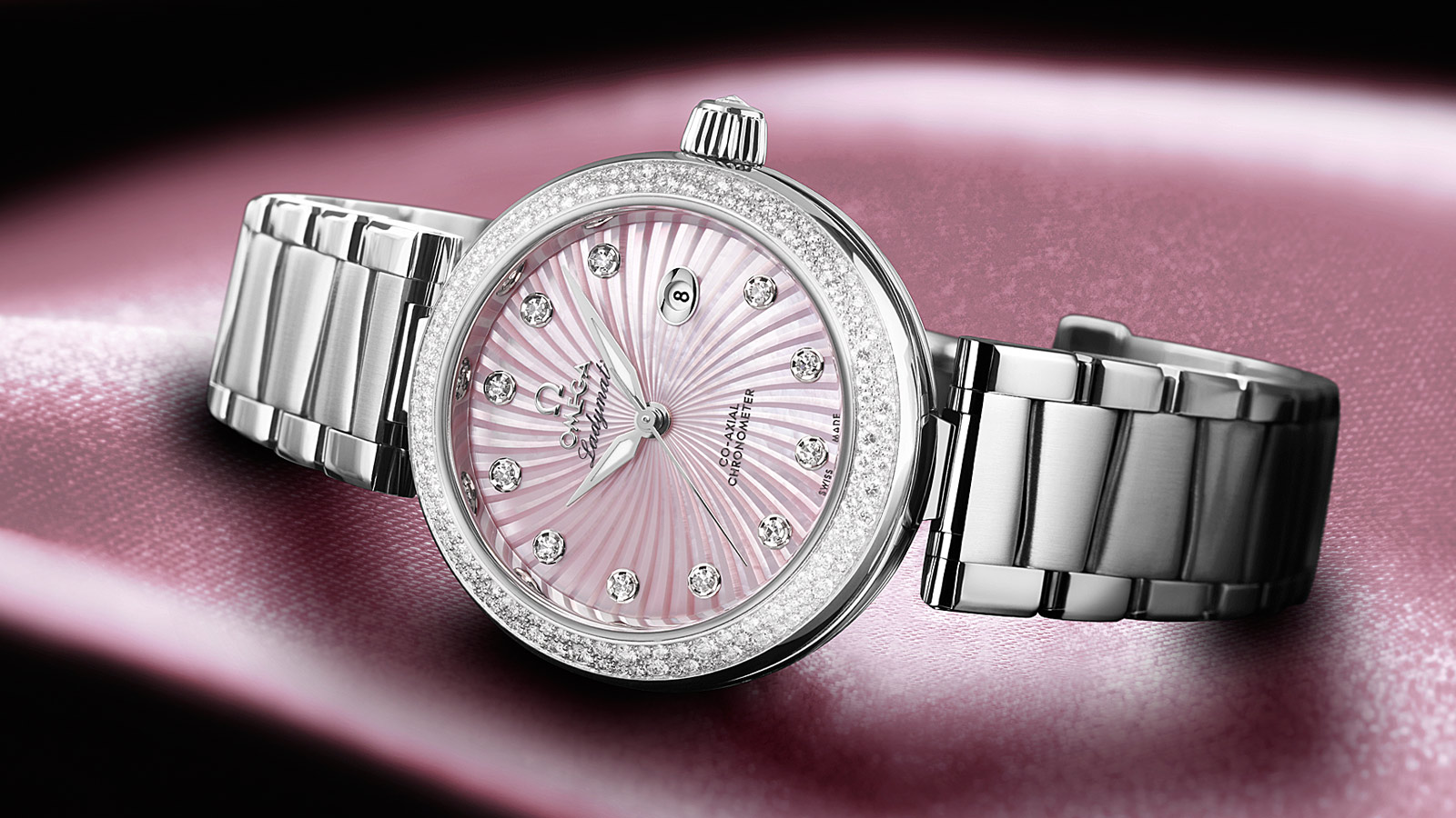 De Ville Ladymatic Ladymatic Omega Co‑Axial 34 mm - 425.35.34.20.57.001 - Vista 1