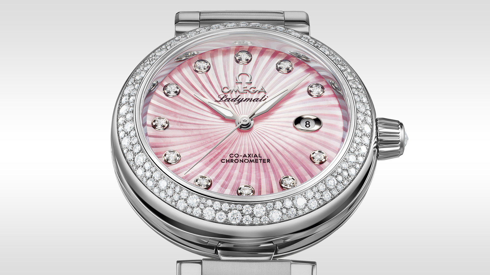 De Ville Ladymatic Ladymatic Omega Co‑Axial 34 mm - 425.35.34.20.57.001 - Vista 2