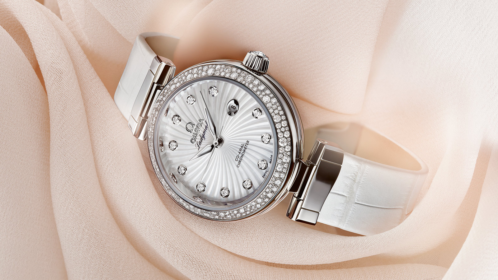 De Ville Ladymatic Ladymatic Omega Co‑Axial 34 mm - 425.38.34.20.55.001 - View 1