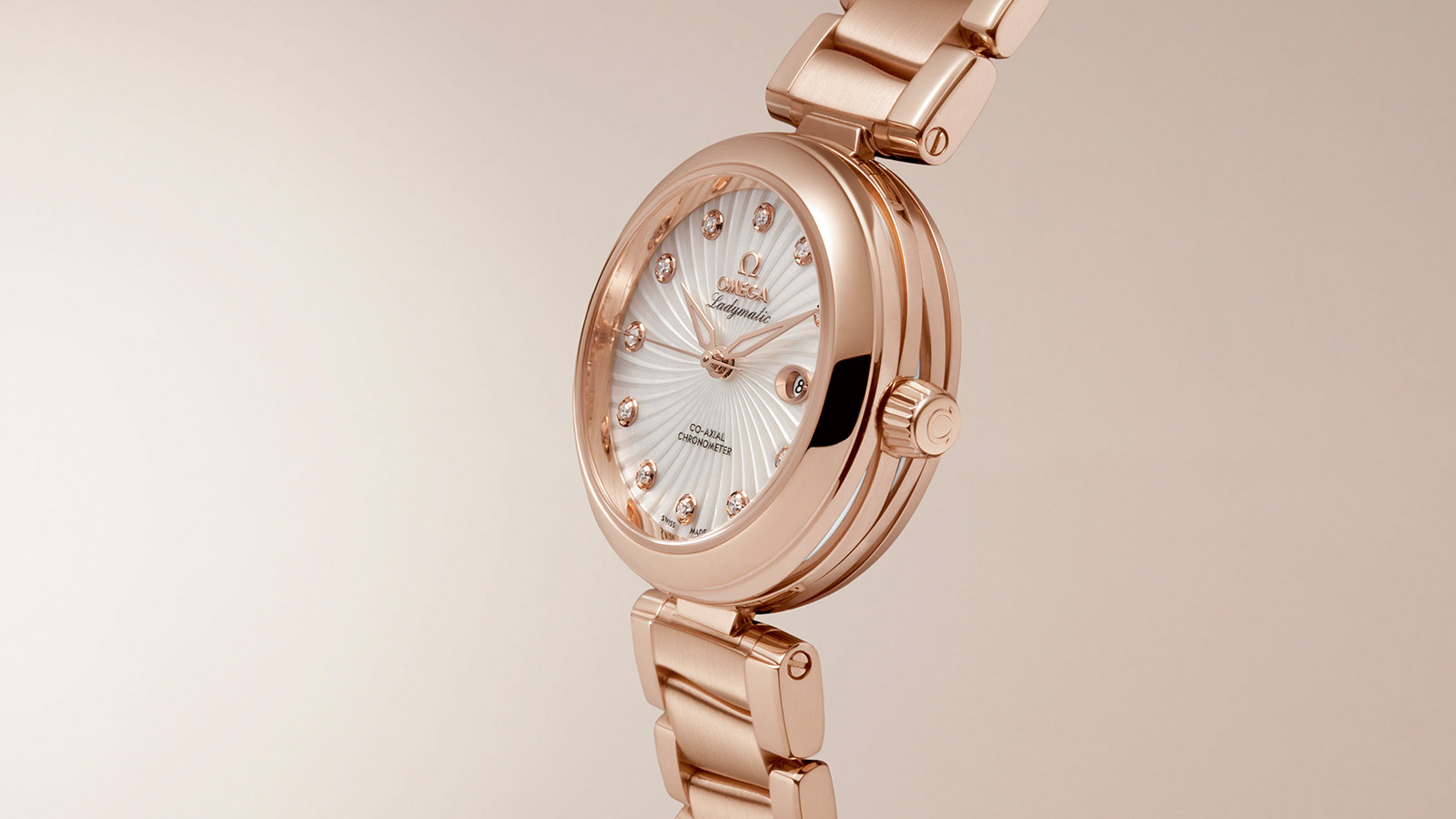 De Ville Ladymatic Ladymatic Omega Co‑Axial 34 mm - 425.60.34.20.55.001 - View 2