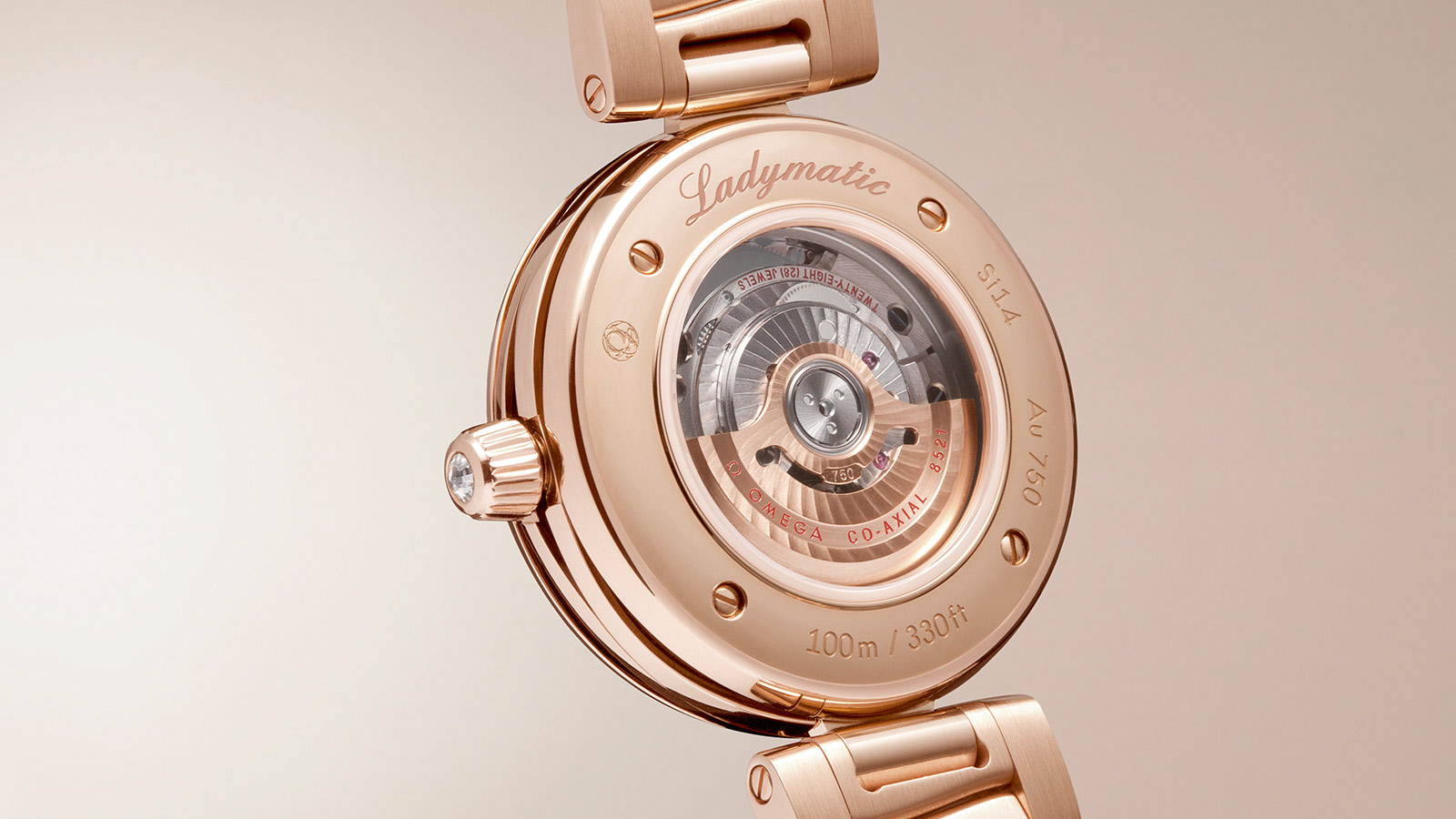 De Ville Ladymatic Ladymatic Omega Co‑Axial 34 mm - 425.65.34.20.51.001 - View 3