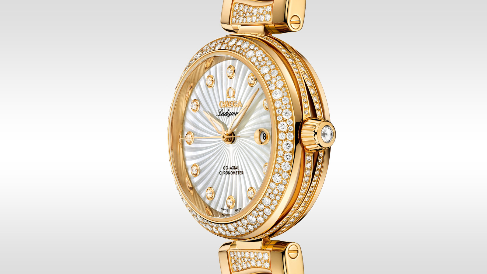 De Ville Ladymatic Ladymatic Omega Co‑Axial 34 mm - 425.65.34.20.55.004 - Просмотреть 1