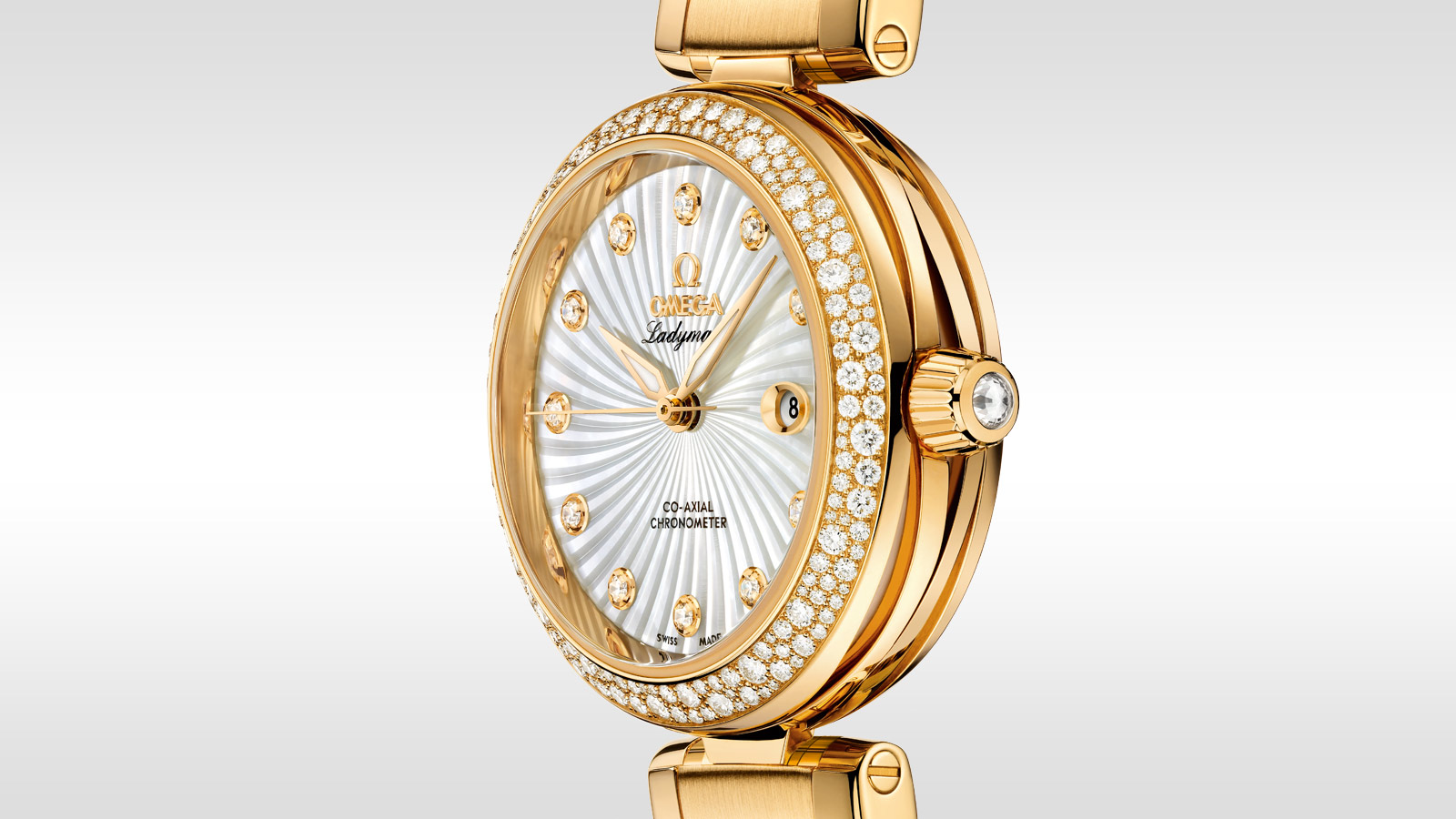 De Ville Ladymatic Ladymatic Omega Co‑Axial 34 mm - 425.65.34.20.55.006 - Vista 1